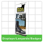 Displays/Lanyards/Badges